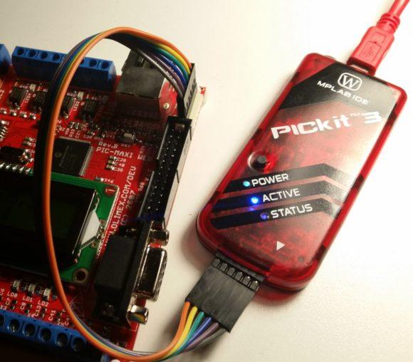 PIC-MAXI-WEB PICkit3 ICSP