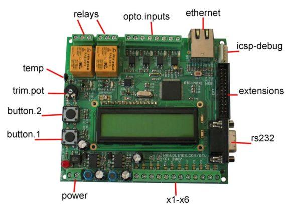PIC-MAXI-WEB Components